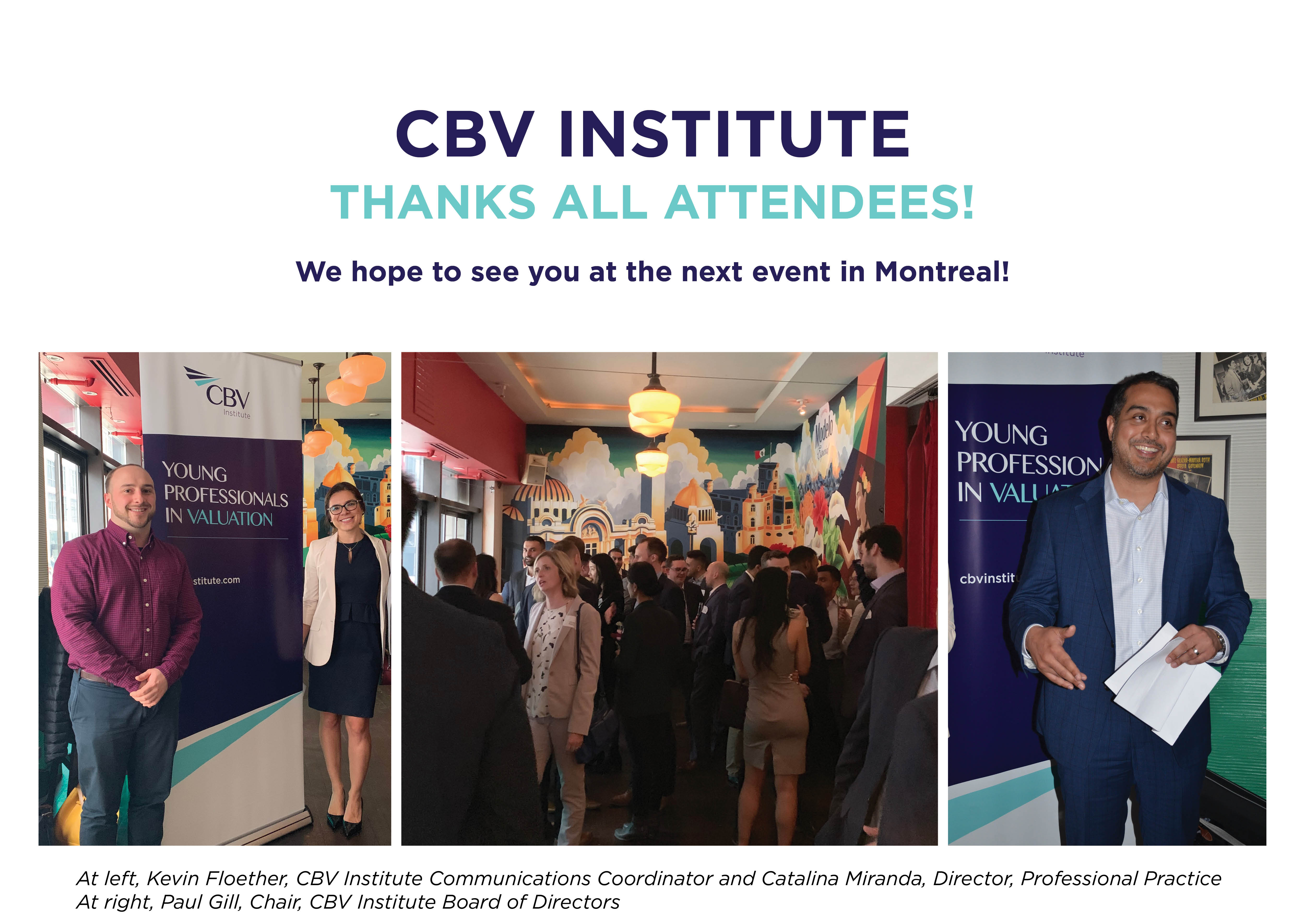 Young Professionals in Valuation | CBV Institute